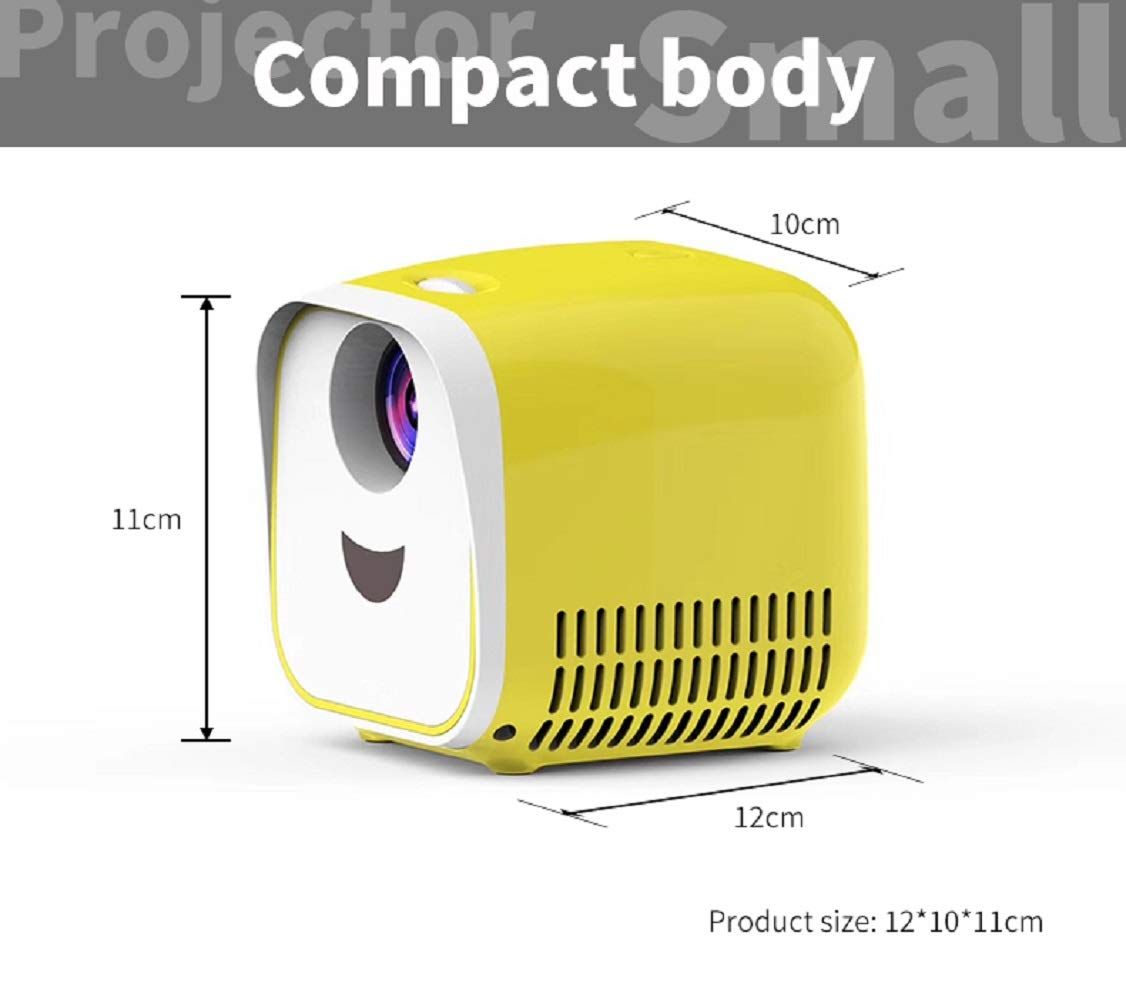 Proyector, Proyector portátil Soporte para Mini proyector 1080P ...