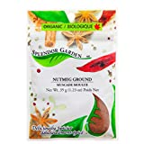 Splendor Garden organic nutmeg ground, 35 grams
