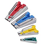 new High quality 1 Set Fabric Clover Bias Tape Maker Binding Tool 18mm Set Machine Tool Sewing Quilting hot selling