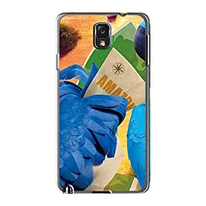 Samsung Galaxy Note3 Zcl6322ibOy Support Personal Customs Stylish Rio 2 Pictures Shock-Absorbing Hard Phone Cases -AnnaDubois