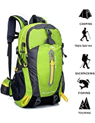Fredhome 40L Hiking Backpack Large Capacity Outdoor Travelling Daypack Pack Exploring Trekking Climbing Sports...