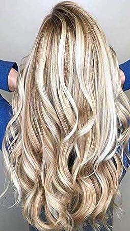 Braun blonde gestrahnte haare