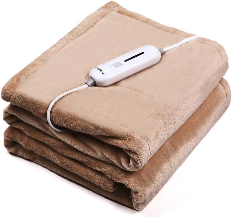 Waterproof Anticreep Winter Electric Heated Blanket Quilt Heating Rapid New Z5P3