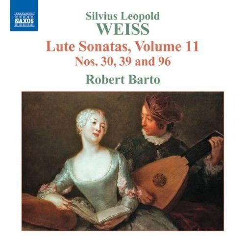 Weiss: Lute Sonatas Nos. 30, 39 and 96 - Volume 11 by Naxos (2012-02-16)