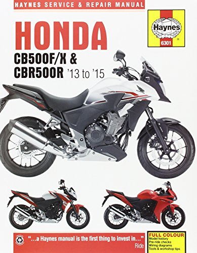 Honda CB500FX and CBR500R Service and Repair Manual 2013 thru 2015 (Haynes Powersport)