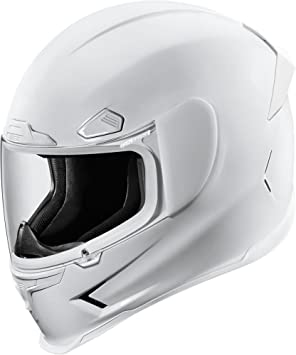 Icon Airframe Pro - Casco de moto, color blanco