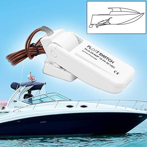 Interrupteur de flotteur CC 12 V HavanaYZ Pompe /électrique automatique 20 AMP