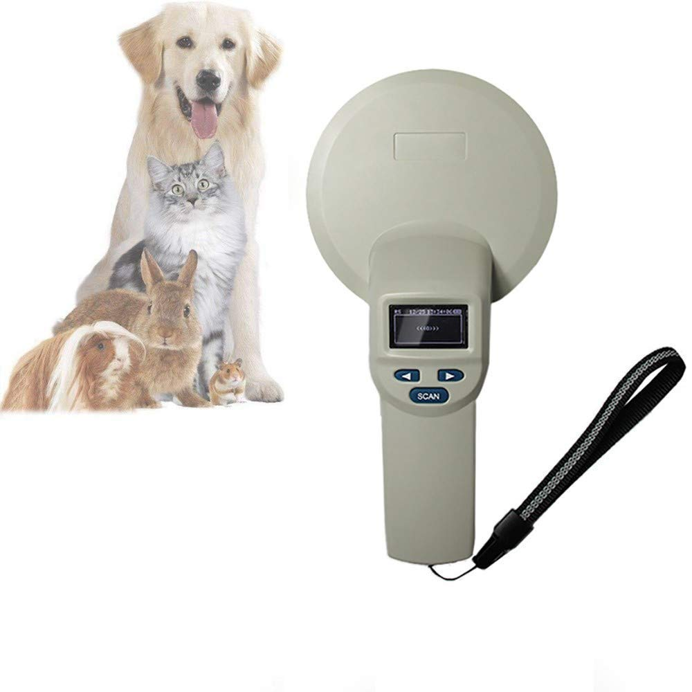 Pet Reader Microchip Scanner FDX-B Animal RFID Tag Low Frequency ID RFID Animal Ear tag Reader