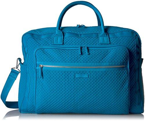 Vera Bradley Women's Iconic Grand Weekender Travel Bag Vera, bahama bay, One Size by Vera Bradley