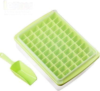 Shuxuanltd Bac Glacon Bac A Glacons Avec Couvercle Bac Plastique Avec Couvercle Bac A Sable Avec Couvercle Plastique Moule A Popsicle Fait Maison Green Amazon Fr Cuisine Maison