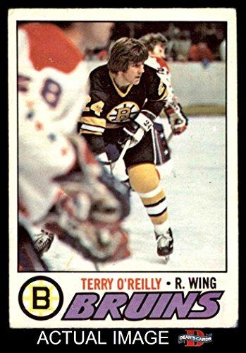 1977 O-Pee-Chee # 220 Terry O'Reilly Bruins (Hockey Card) Dean's Cards 3 - VG Bruins (Terry 220)