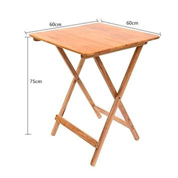 Bdeng Lámpara de mesa/Mesa de escritorio Mesa de madera natural ...