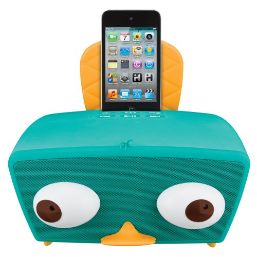 eKids Phineas and Ferb Perry-Diculous iPod Boom box (PF-415)