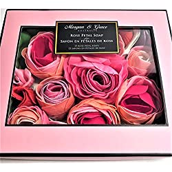 Luxury and Delicate Rose Petal Scented Bath Soap