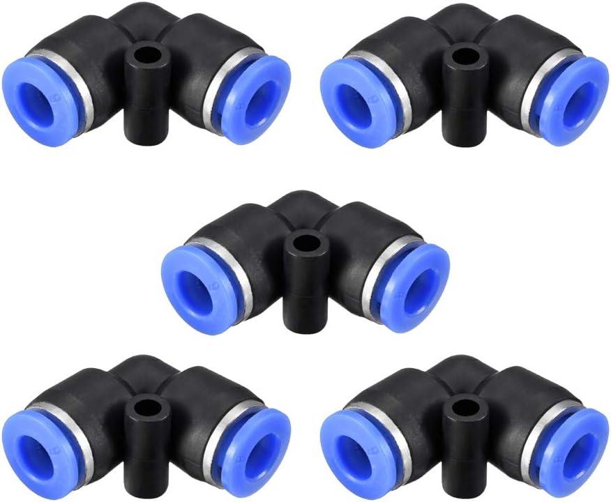 5 gerade Kunststoff JJDD Druckluft-Werkzeug-Armaturen 5 T-St/ück 20 St/ück Kombi-Kit 5 Spliter Schnellverbindungsst/ücke Druckluft-Verbindungs-Set 5 Ellbogen zum Verbinden von Armaturen