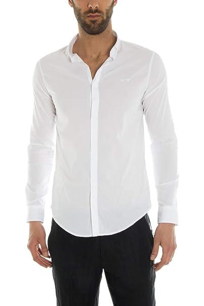 vestibilità classica ae3ce 63328 Camicia uomo Armani Jeans, extra slim fit, bianca, art ...
