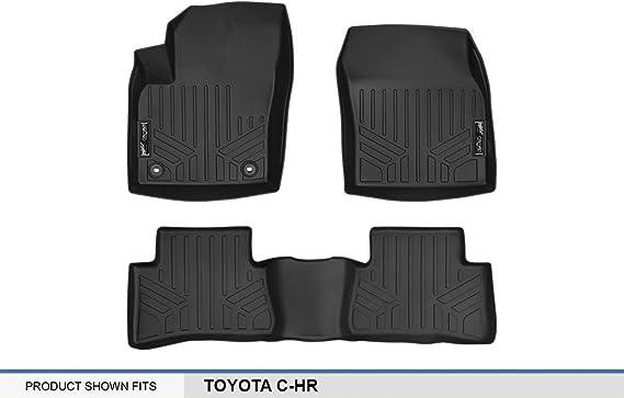 MAXLINER MAXFLOORMAT Floor Mats 1st Row Set Black for 2018 Toyota C-HR