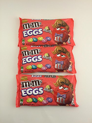 3 -Pack of 9.9-Ounce M&Ms Easter Peanut Butter Speck-Tacular
