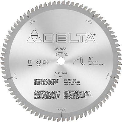 DELTA 35-7665 10-Inch 80 Tooth Non-Ferrous Circular Saw Blade