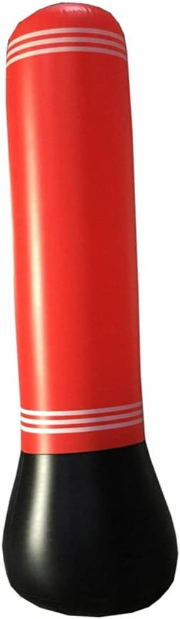 saco de boxeo de torre de potencia adolescentes saco de boxeo para fitness bolsa de objetivo para ni/ños Bolsa hinchable para boxeo de torre de estr/és MMA adultos CYBX01 boxeo