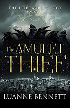 Amulet Thief Fitheach Trilogy Book ebook product image