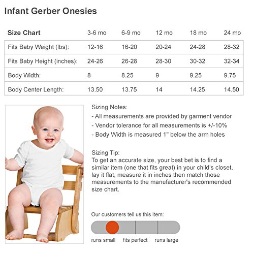 I Heart My Aunt Ashley: Infant Gerber Onesies by FUNNYSHIRTS.ORG (Image #2)