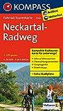 Neckartal-Radweg: Fahrrad-Tourenkarte. GPS-genau. 1:50000. (KOMPASS-Fahrrad-Tourenkarten, Band 7044)