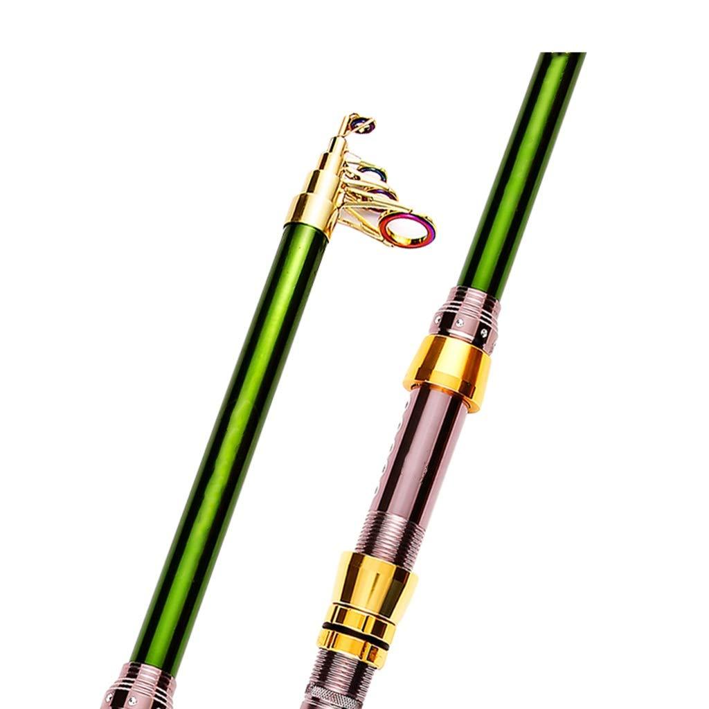 釣り竿 - 超軽量スーパーハードカーボンハード調節可能な長距離格納式釣りギア (サイズ さいず : 3.0m) 3.0m  B07QHX7VKC