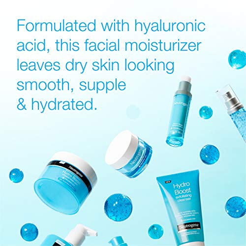 Neutrogena Hydro Boost Hyaluronic Acid Hydrating Gel-Cream Face Moisturizer to Hydrate & Smooth Extra-Dry Skin, Oil-Free… 2