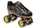 Labeda U7 Black Skates - Labeda VooDoo U7 Black Speed Roller Skates