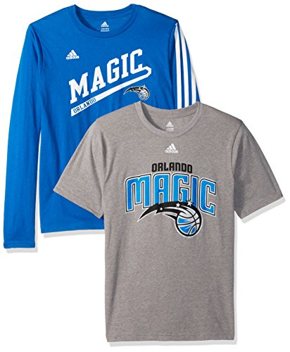 - NBA Youth 8-20 Orlando Magic 2 For 1 Play Combo Pack-Heather Grey-L(14-16)