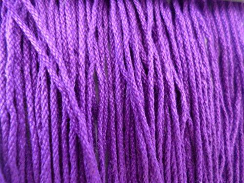 Cotton Rayon Vibrant Purple 8 Ply Knitting Crochet Yarn
