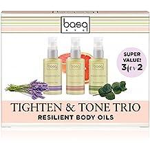 Basq Resilient Body Oil Trio Set - Eucalyptus-Lavender-Citrus - 2 Oz - 3 Ct