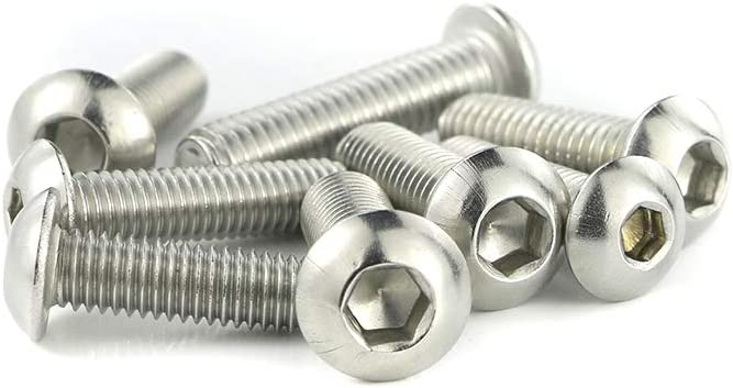 Mounting Kits Washers//Nuts//Fastenings//Clips//Grommets Complete Boby Screws for DUCATI 848 1098 1198 Xitomer Stainless Steel Full Sets Fairing Bolts Kits