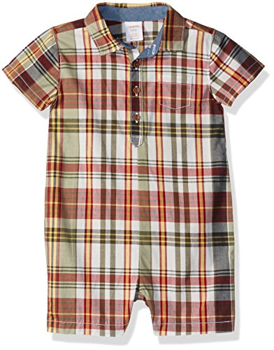 Gymboree Baby Boys Sleeve Polo One-Piece Shorts