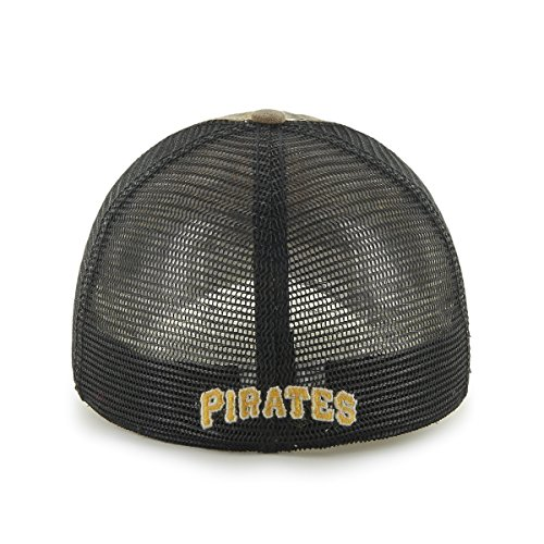 ae8d7936bbe MLB  47 Huntsman Closer Camo Mesh Stretch Fit Hat