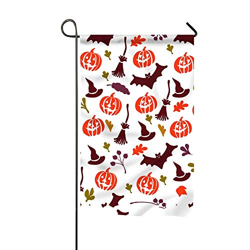 WilBstrn Halloween Fun and Quote Family Party Outdoor Yard House Garden Flags