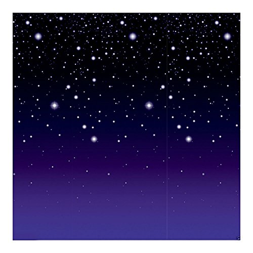 HOLLYWOOD Alien Space Party Decoration Stars STARRY NIGHT