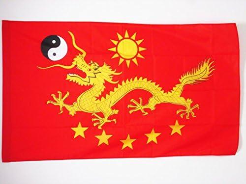 AZ FLAG Bandera de China Imperial Nuevo 150x90cm para Palo ...