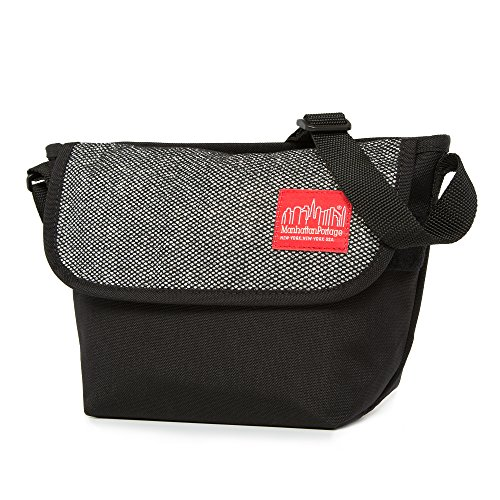 (Manhattan Portage Midnight Mini NY Messenger Bag (XXS, Dark Grey))