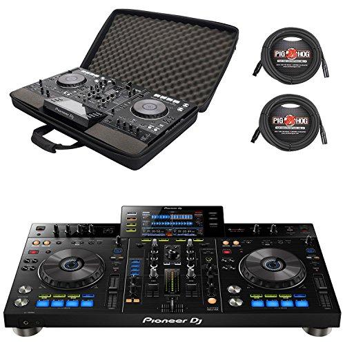 Pioneer XDJ-RX - 2-Channel Rekordbox DJ System & Magma MGA47988 Control-Case w/ Pig Hog XLR Cables - Bundle (Control Pioneer Dj)
