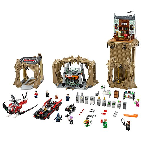 LEGO Super Heroes Batman Classic TV Series Batcave 76052]()