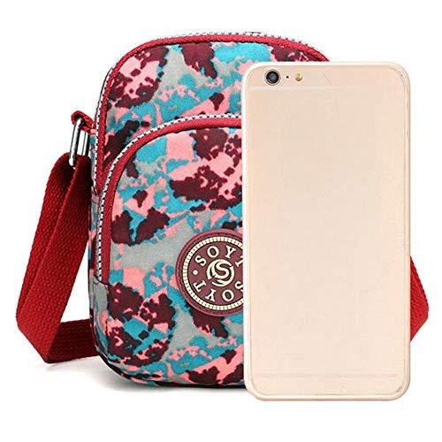 7Plus Iphone tracolla impermeabile Nylon per in iPhonecolore impermeabile nylon Portafogli in con CexodBr
