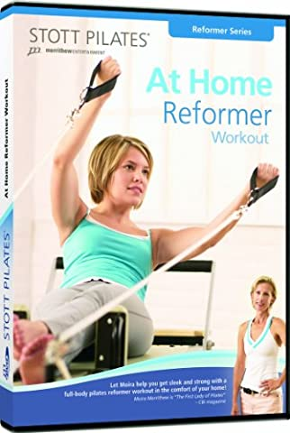 STOTT PILATES At Home Reformer Workout (English/French) (At Home Workout Dvd)