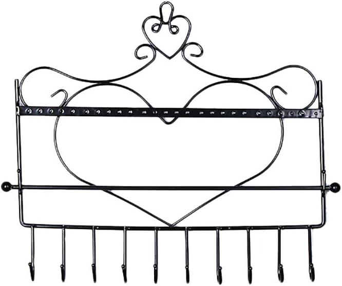Bronze JUNGEN Pr/ésentoir /à Bijoux fer Art support mural en forme de c/œur Porte-bijoux Support en M/étal /à accrocher au mur pour boucles doreilles colliers