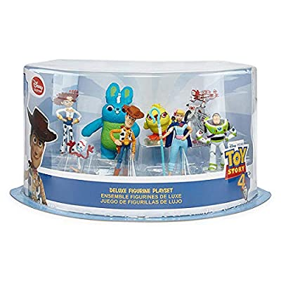 Toy Story Disney Deluxe 8 Piece Figure Play Set