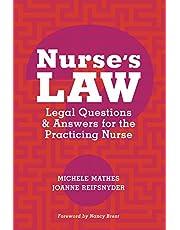 Nurse's Law: Legal Questions
