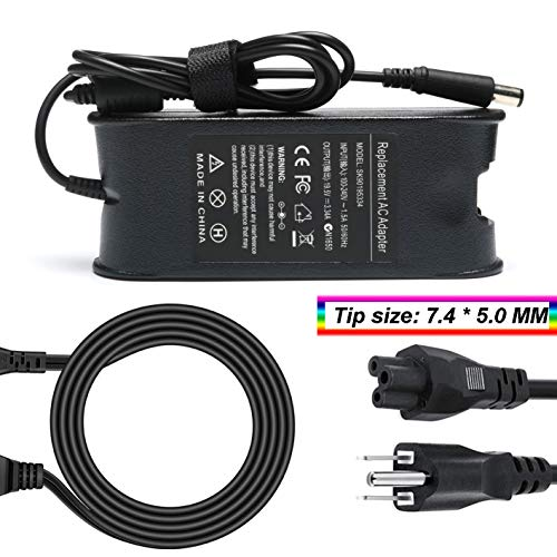 65W Charger Power Supply Fit for Dell Latitude E6420 E6430 E6430s E6430U E6440 E6500 E6510 E6520 E6530 E6540 E7240 E7250 E7440 E7450 LA65NM130 HA65NM130 (19.5V 3.34A) (Dell Latitude D600 Screen)