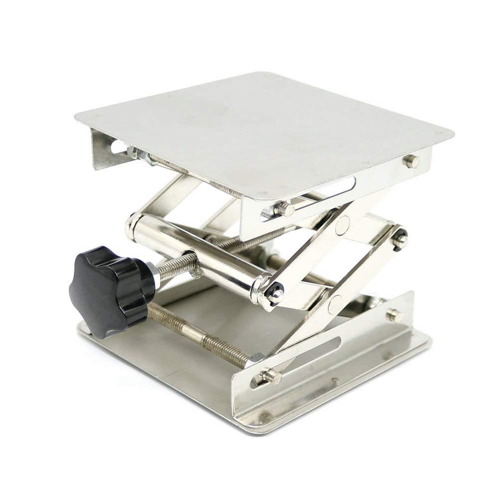 15, 2 x 15, 2 cm acciaio lab-lift piattaforme di sollevamento Lab ponte sollevatore supporto porta 150 x 150 x 250 MM 2x 15 MBLUE