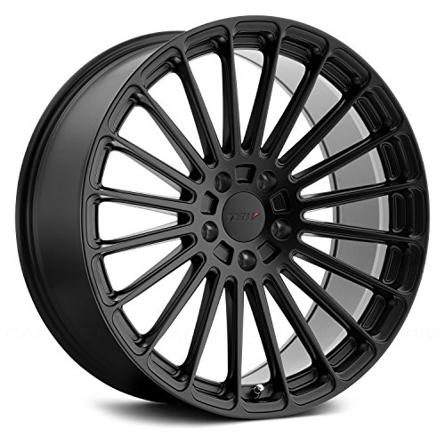 TSW Turbina 22x9.5 5x114.3 +20mm Matte Black Wheel Rim